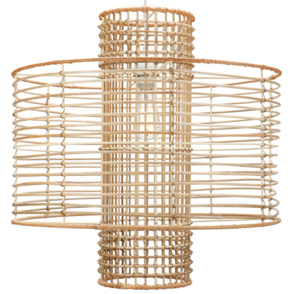 Rattan Boho Pendant Light Eclectic Goods