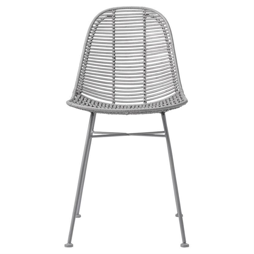 Kit Dining Chair Gray