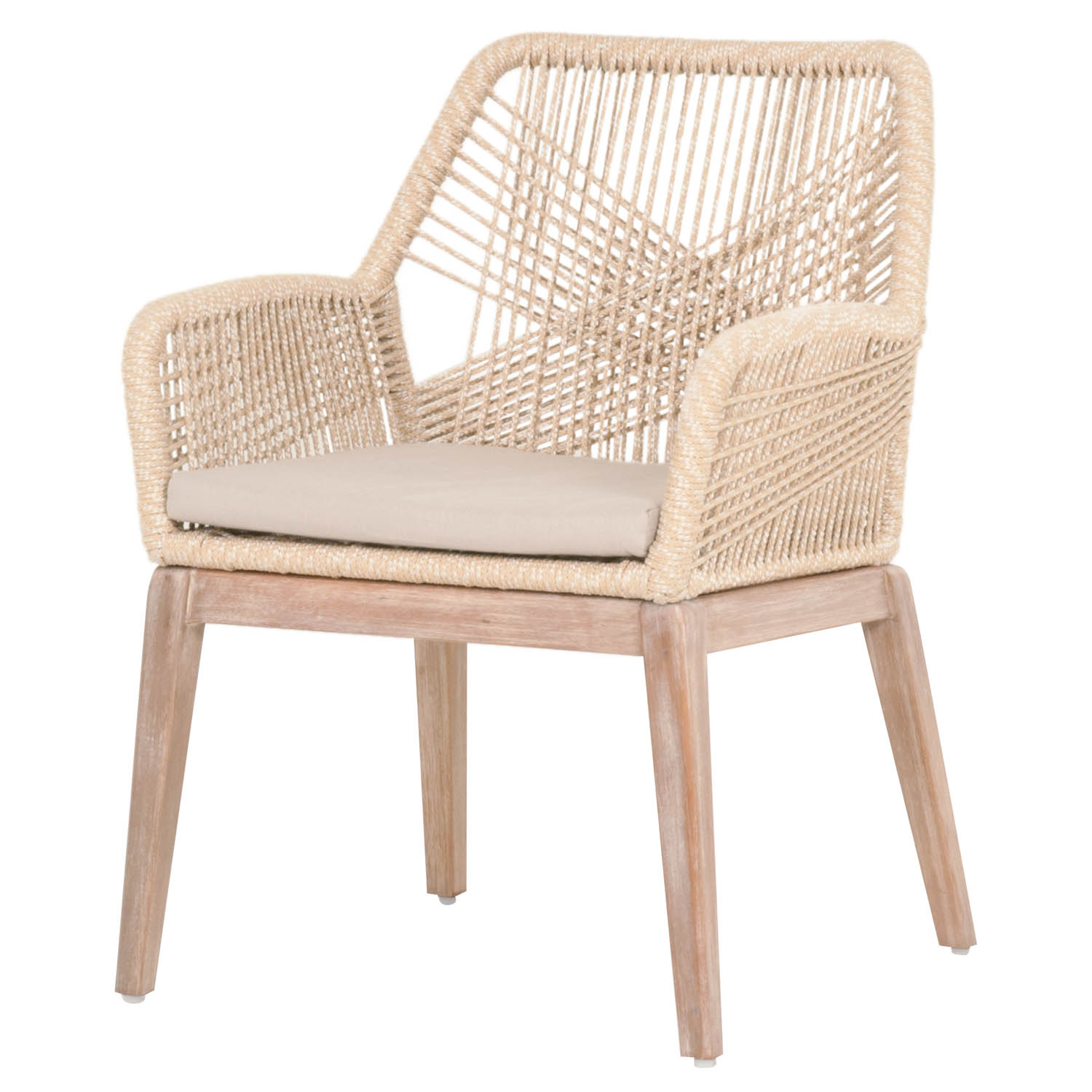 Rope Dining Chair Natural Eclectic Goods Eclectic Goods