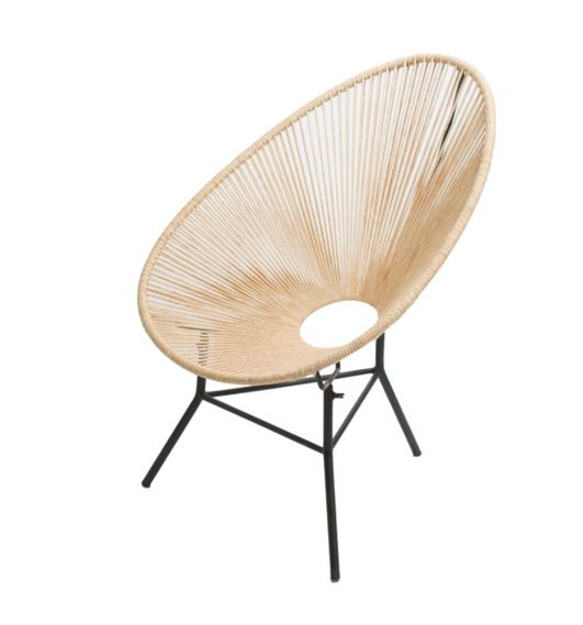 Woven Acapulco Chair Natural