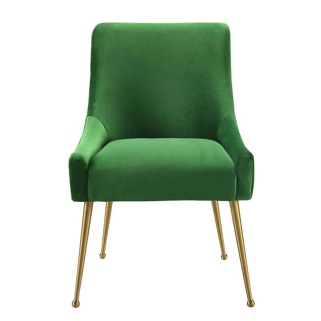 Flint Dining Chair Emerald Green Eclectic Goods
