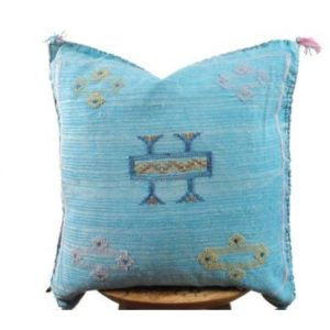 sabra pillow blue