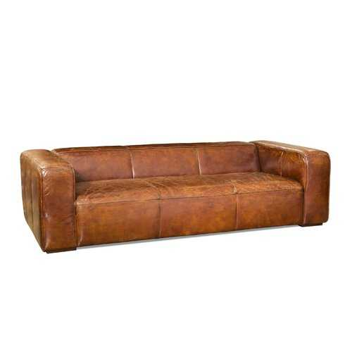 Clouds Rest Leather Sofa Brown ~ Eclectic Goods : Eclectic Goods