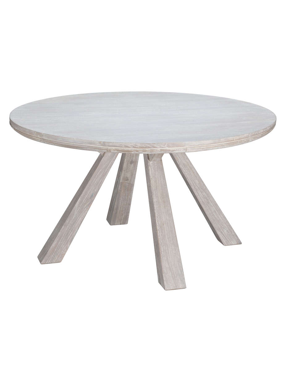 Ava Bleached Wood Dining Table Large Eclectic Goods Eclectic Goods - Bleached wood dining table