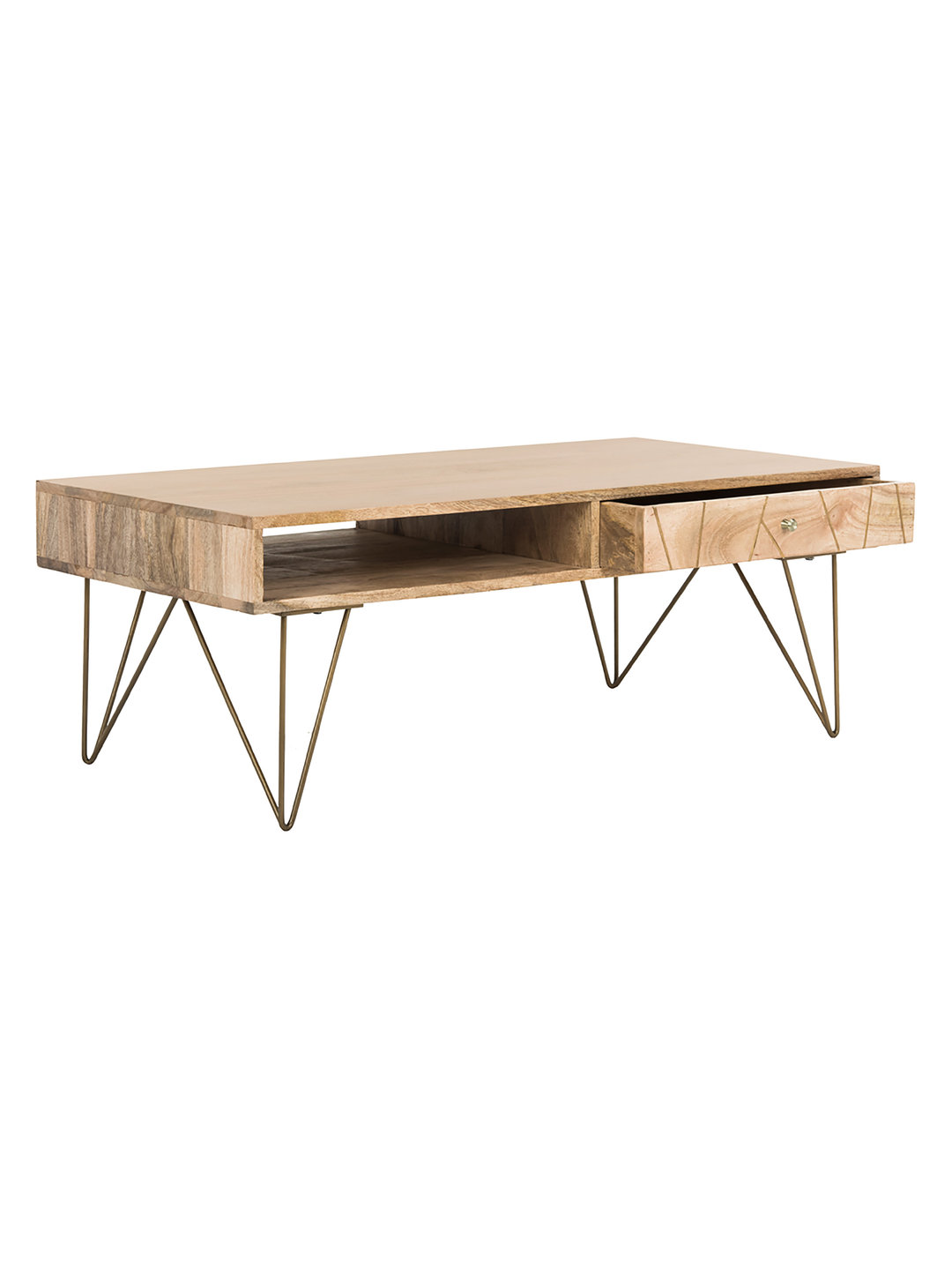 Brass Inlay Coffee Table Eclectic Goods