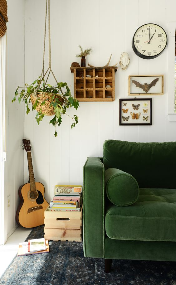 Vintage Modern Style Living Room: How to Mix Old With New ...