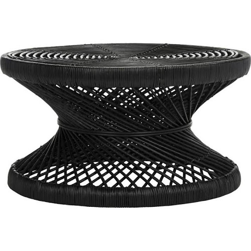 Black Wicker Coffee Table: Product Categories Coffee Tables : Eclectic Goods