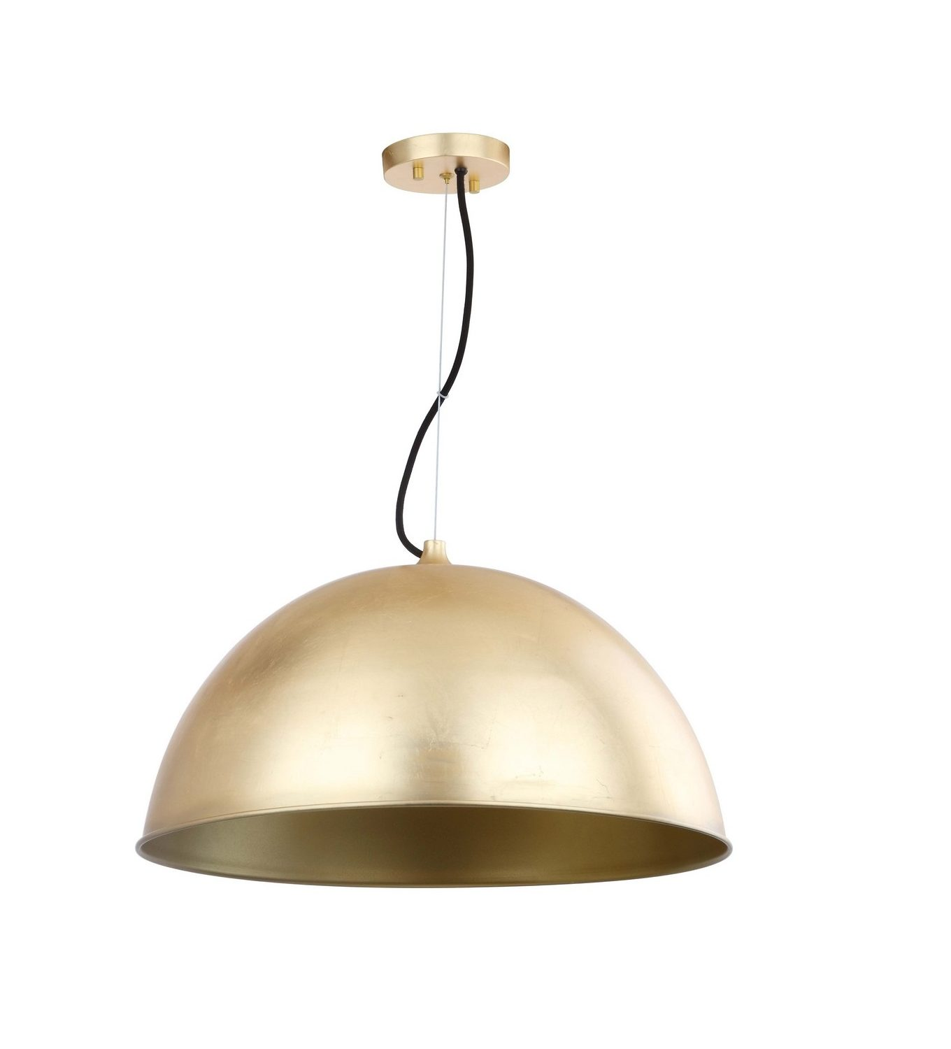 giant original brass ang pendant by index anglepoise