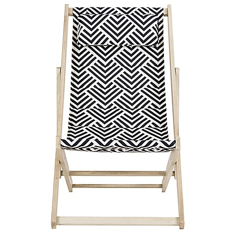 ... Modern Outdoor Sling Chair. Eclecticgoods.com