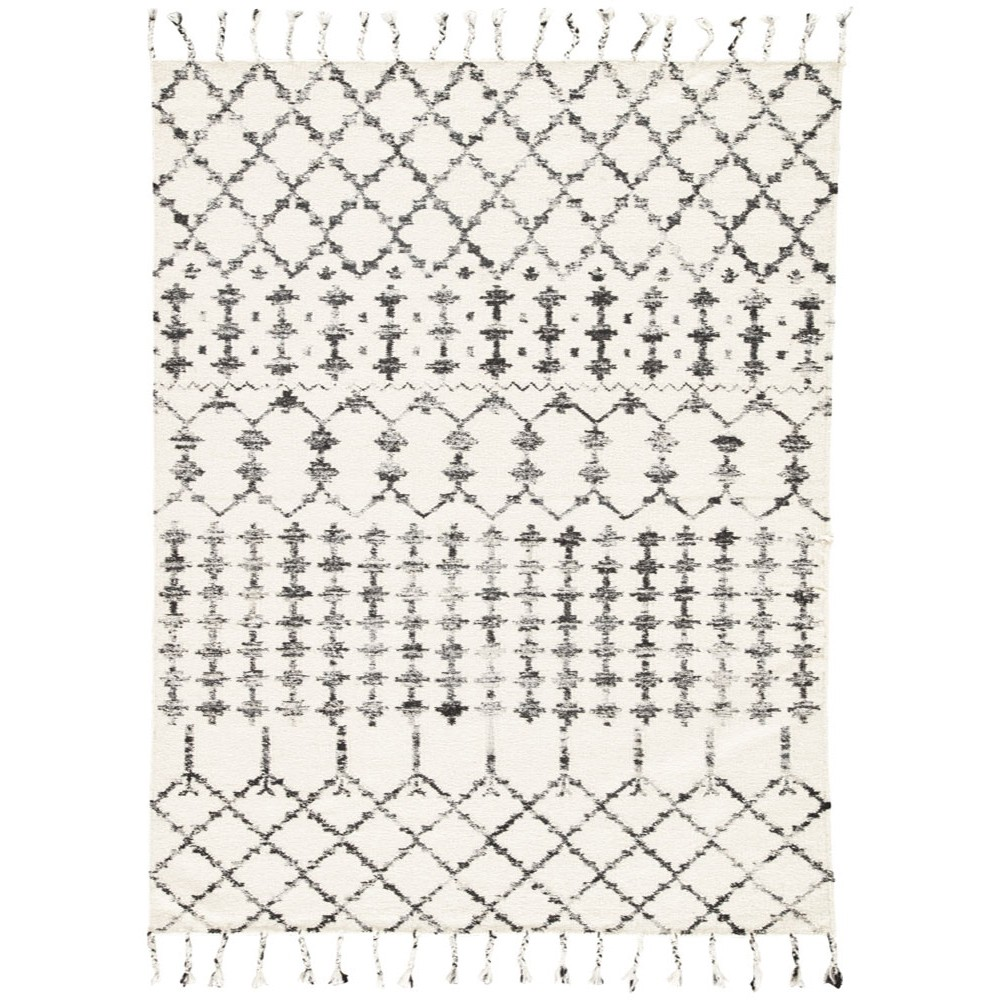 Black and white tribal rug eclectic goods eclectic goods - Black and white rug ...