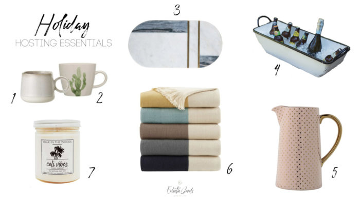 Eclectic Goods Holiday Hosting Essentials