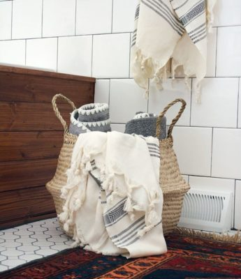 Eclectic Goods - Bathroom Storage Solutions - BrePurposed
