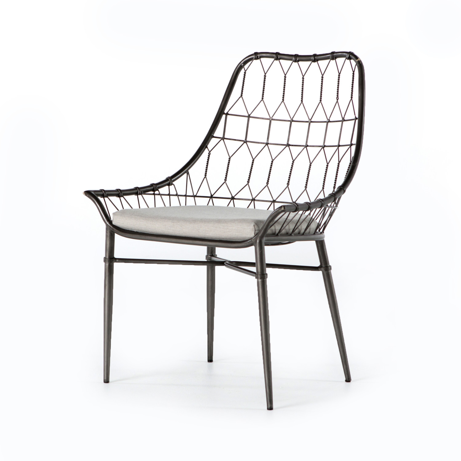 Swell Modern Wire Dining Chairs Creativecarmelina Interior Chair Design Creativecarmelinacom