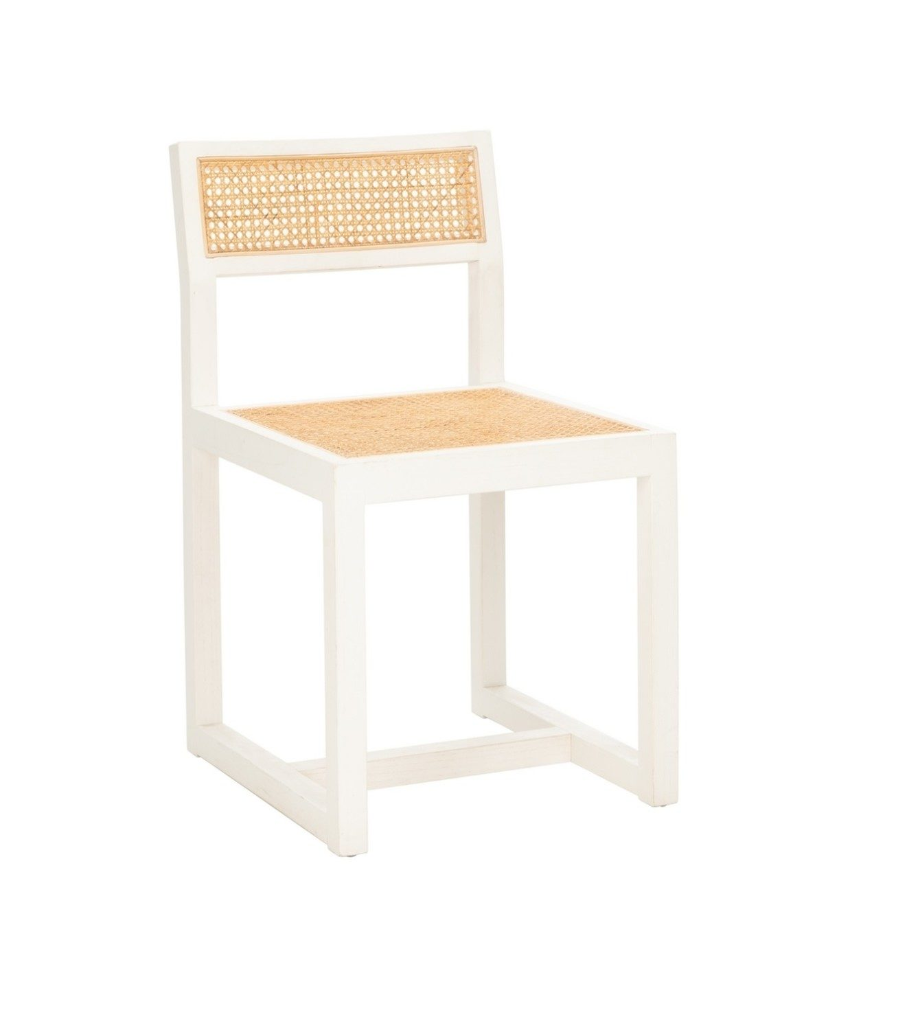 Stupendous White Cane Dining Chair Ncnpc Chair Design For Home Ncnpcorg