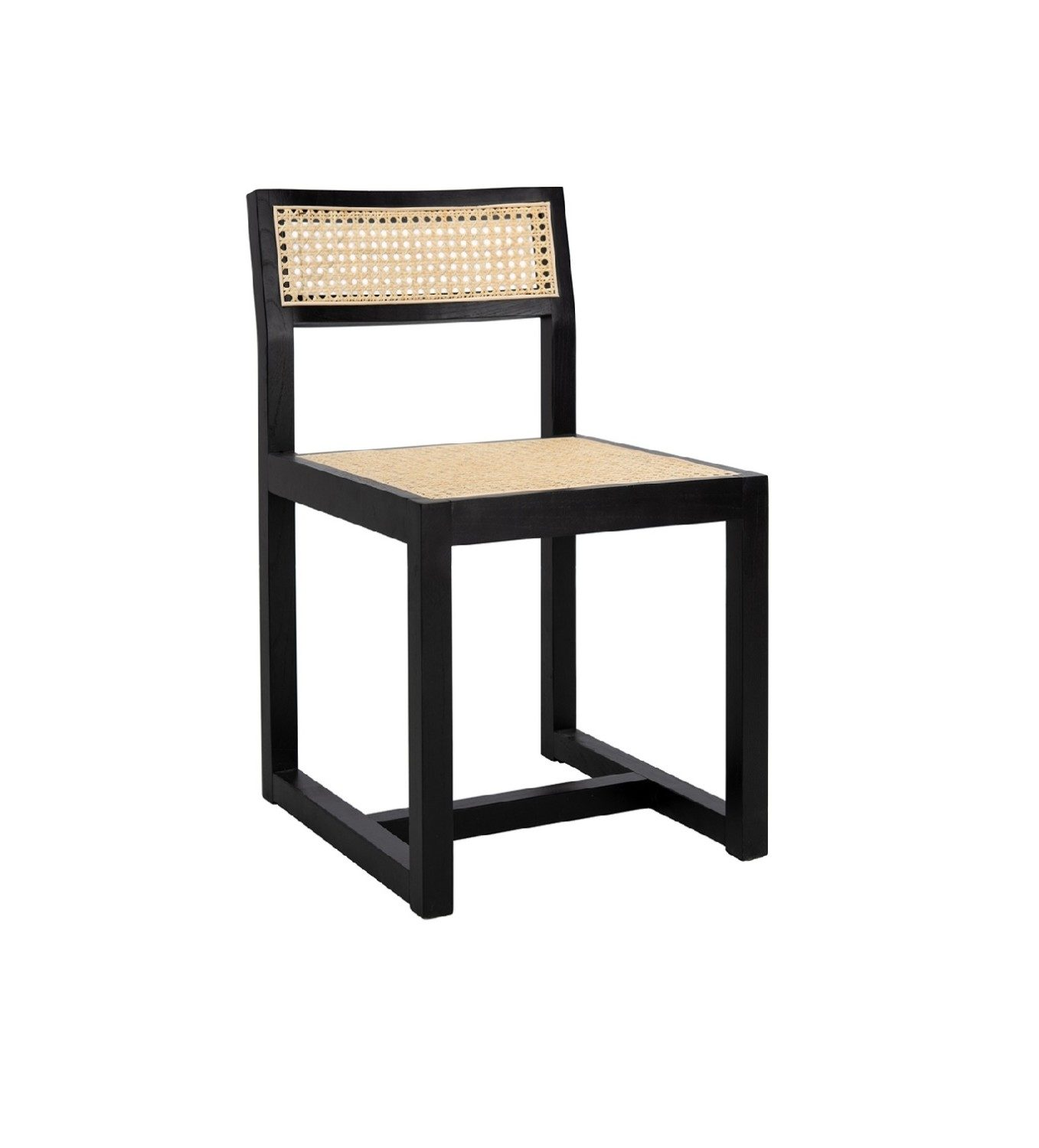 Pleasant Cane Dining Chair Black Ncnpc Chair Design For Home Ncnpcorg