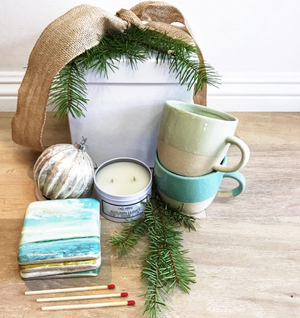 merry + bright gift boxes