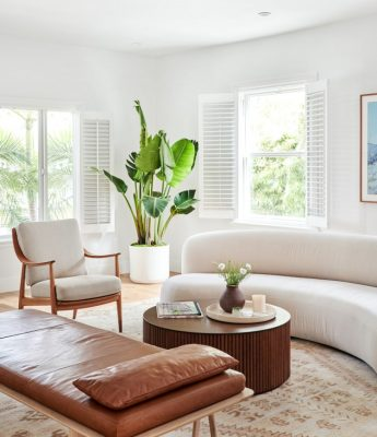 Eclectic Goods - Curved Sofa Inspo