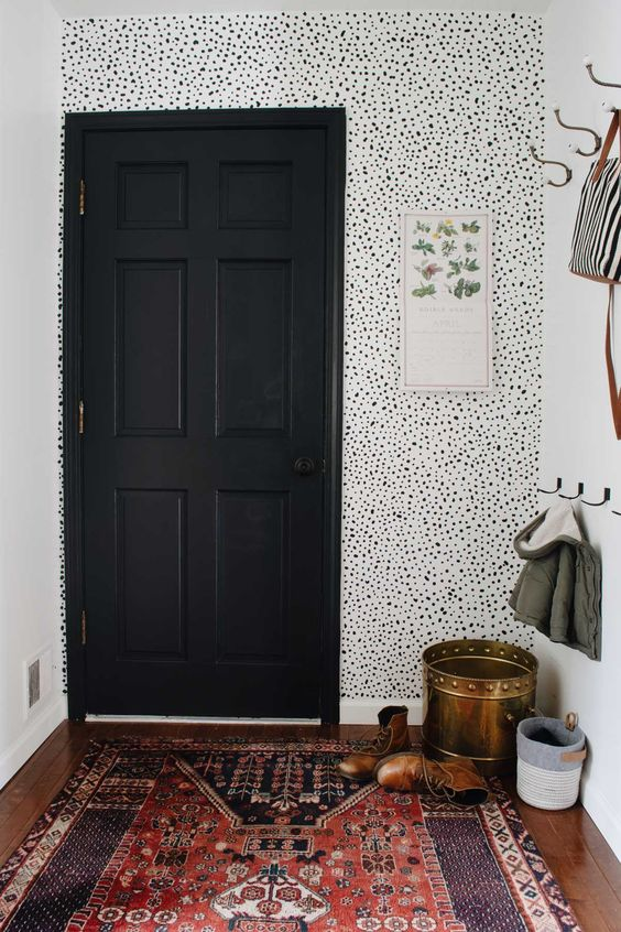Eclectic Goods - Faux Painted Wallpaper Inspo