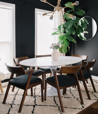 Black and White Dining Room Cover Image from 204 Park